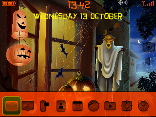 Curve Halloween theme