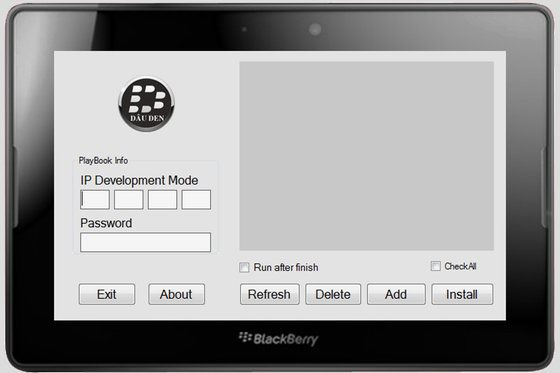 DDPB Installer PlayBook