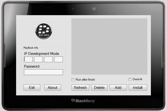 DDPB Installer PlayBook