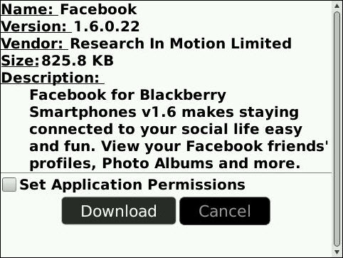 FaceBook Version 1.6.0.22 Launches Bringing OS 5.0 Compatability!