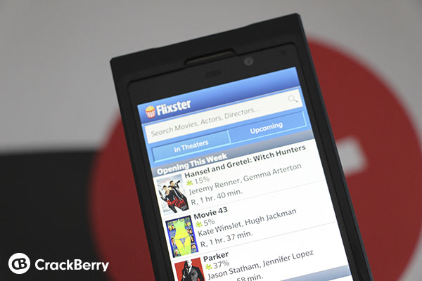 Flixster for BlackBerry 10