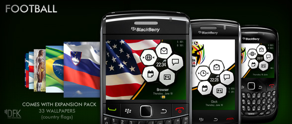 Show off your World Cup pride with premium Football theme from Hedone Design