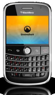 Grooveshark For BlackBerry Updated To v1.0.7