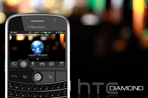 Premium HTC Diamond Bold Theme From EThemes!