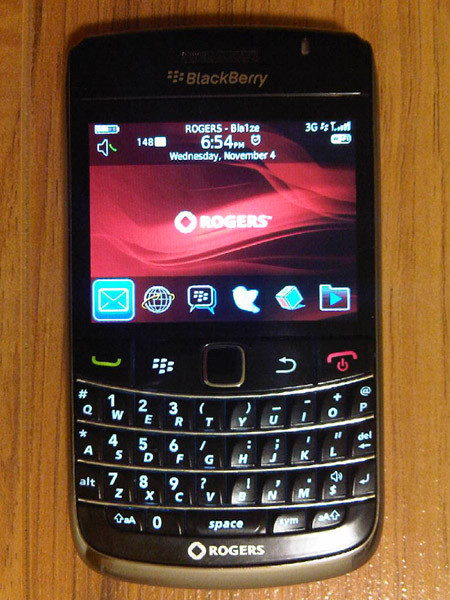 Rogers BlackBerry Bold 9700