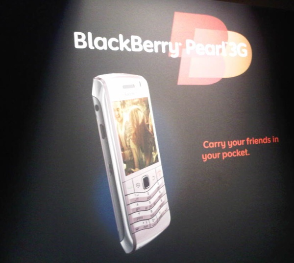 Rogers and TELUS Announce BlackBerry Pearl 3G