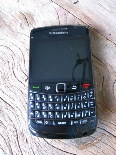 BlackBerry Bold 9780 - Running BlackBerry 6 gets shown off again