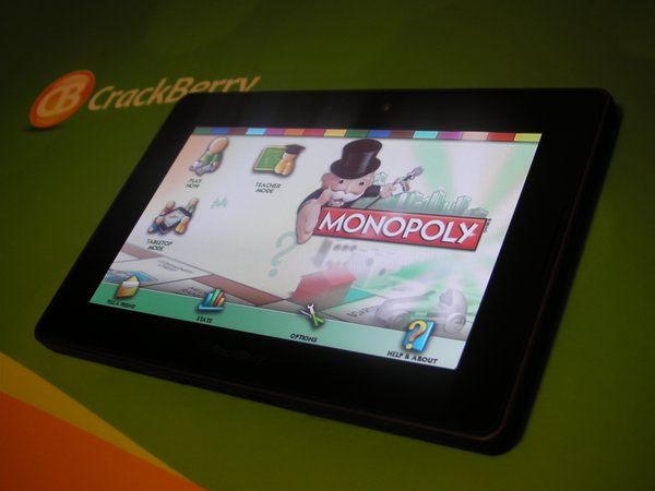 Monopoly for BlackBerry PlayBook