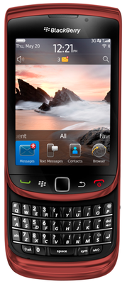 Red BlackBerry Torch 9800 now available from Bell and Virgin Mobile Canada