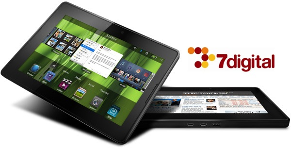 7digital and RIM Strike a Chord with Music Store on the BlackBerry PlayBook