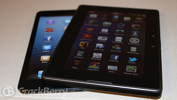 Hands-on with the BlackBerry PlayBook and the iPad mini