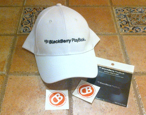 BlackBerry PlayBook Schwag