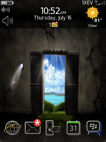 Over 40 Precision Zen Themes For The BlackBerry Storm