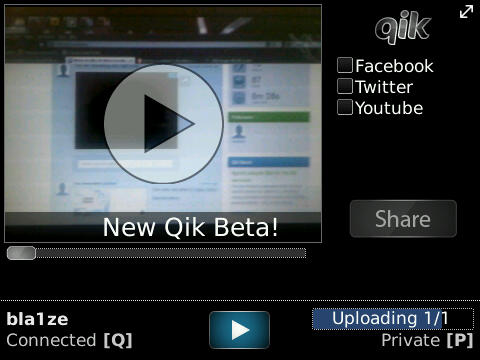 New Qik Beta Shows They've Not Forgotten About BlackBerry