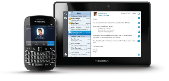 BlackBerry Enterprise Application showcase
