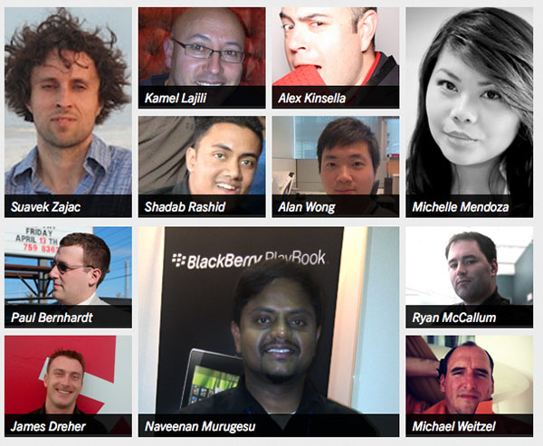 The BlackBerry Developer Relations and BlackBerry Elite are Global teams and you should meet them