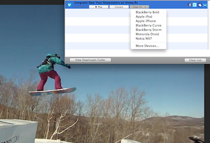 RealPlayer SP Video Converter Now Available For Mac