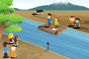 The River Test - A fun little IQ test.