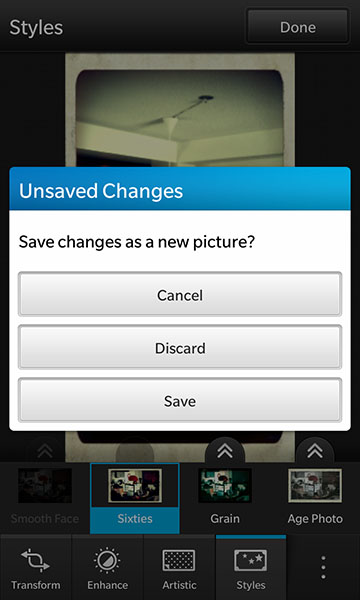 Saving Your Edited Photo