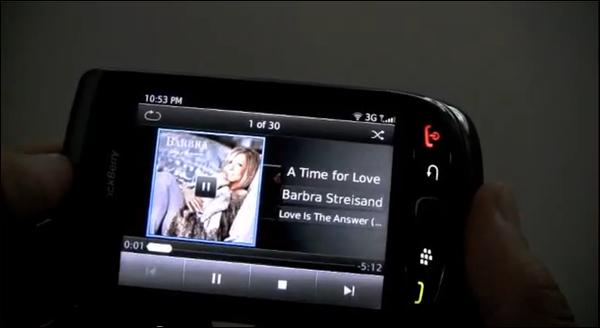 BlackBerry 6 Media Capabilities