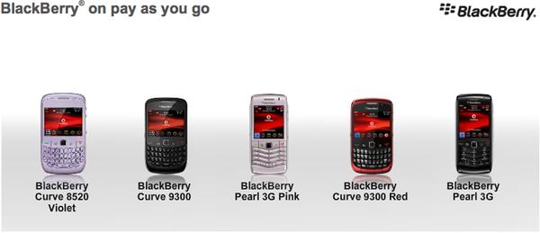BlackBerry PAYG