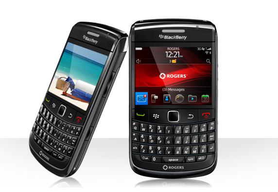 Rogers BlackBerry Bold 9780