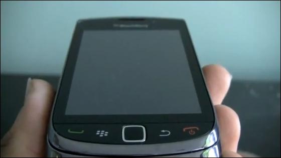 BlackBerry 9800 (Torch, Slider) - Caught on video, yet again