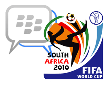 BM connects fans in greatest World Cup moments - RIM releases BlackBerry messenger usage stats