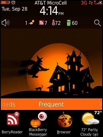 Torch Halloween Theme