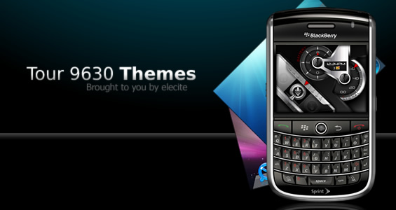 Elecite Updates Themes For BlackBerry Tour!