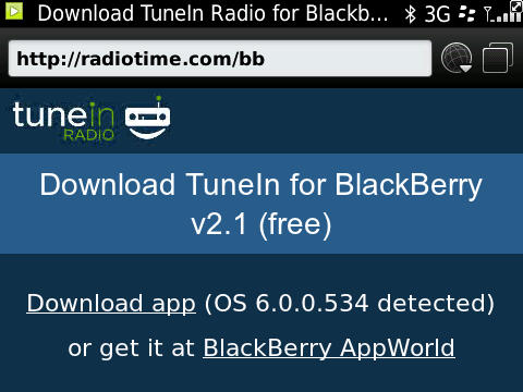 TuneIn Radio updated to v2.1
