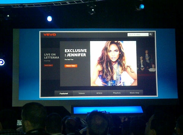 VEVO for BlackBerry PlayBook