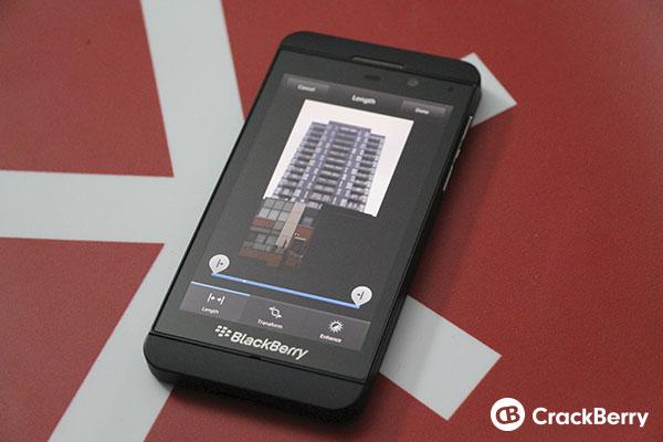 BlackBerry 10 Video Editor