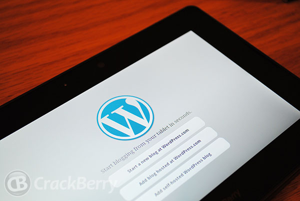 WordPress for PlayBook