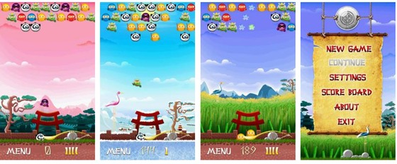 XIMAD's Ninja Shooter for BlackBerry now available
