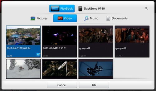 BlackBerry PlayBook Videos