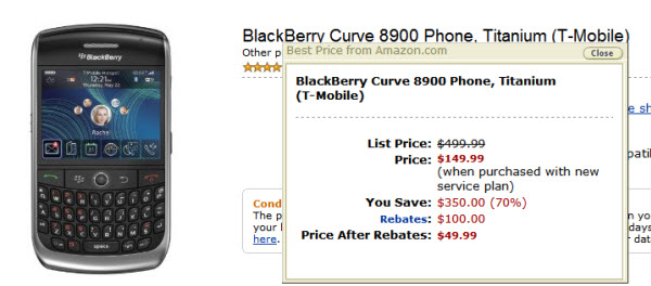 8900 Only $50 From Amazon!