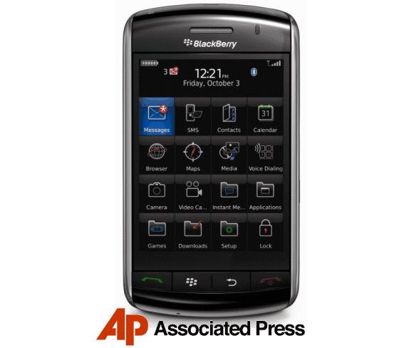 AP Mobile News For BlackBerry Storm!