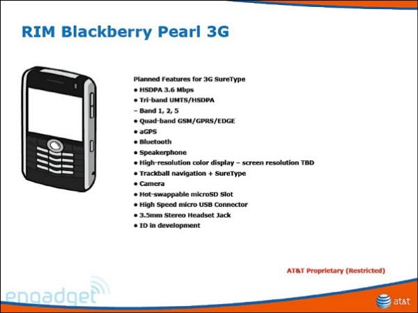 BlackBerry Pearl 3G!