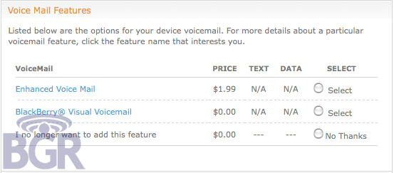 Visual VoiceMail On AT&T Coming Sooner Then Later?
