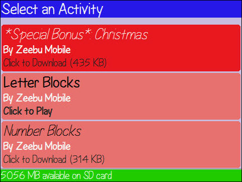 BabyGO and SuperBabyGO Updated With Christmas Content For The Kids