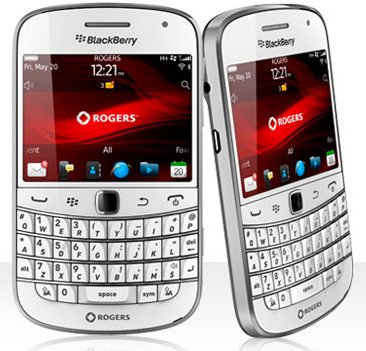 White BlackBerry Bold 9900 now available from Rogers!
