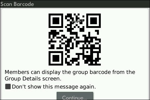 More BlackBerry Messenger Barcode Oddities