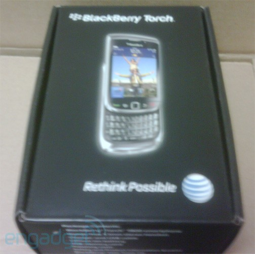 BlackBerry Torch already arriving at AT&T locations?!