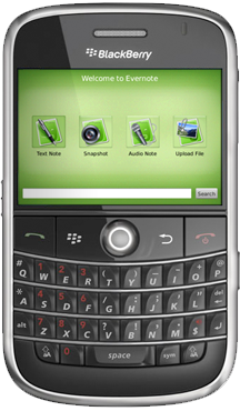 Evernote For BlackBerry Released!!