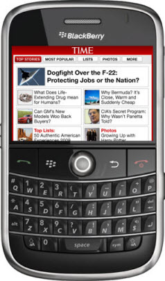 agazine Launches Mobile Application For BlackBerry Devices