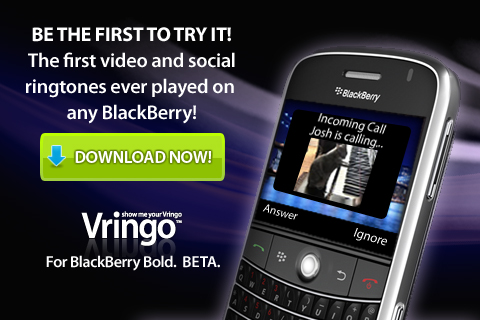 Vringo- Video RingTones For Your Bold Launches In Beta Form!