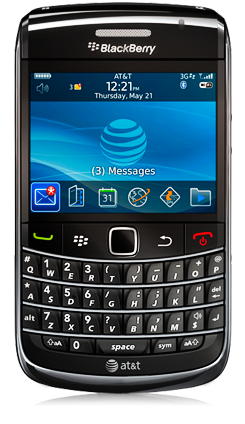 AT&T BlackBerry Bold 9700