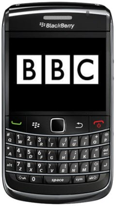 BBC Content Going Mobile And Headed To BlackBerry
