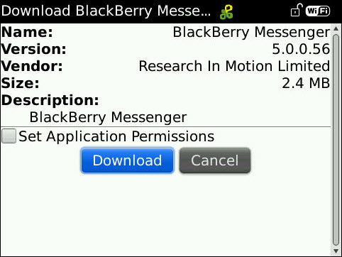 BlackBerry Messenger 5.0.0.56 Now Available For Download